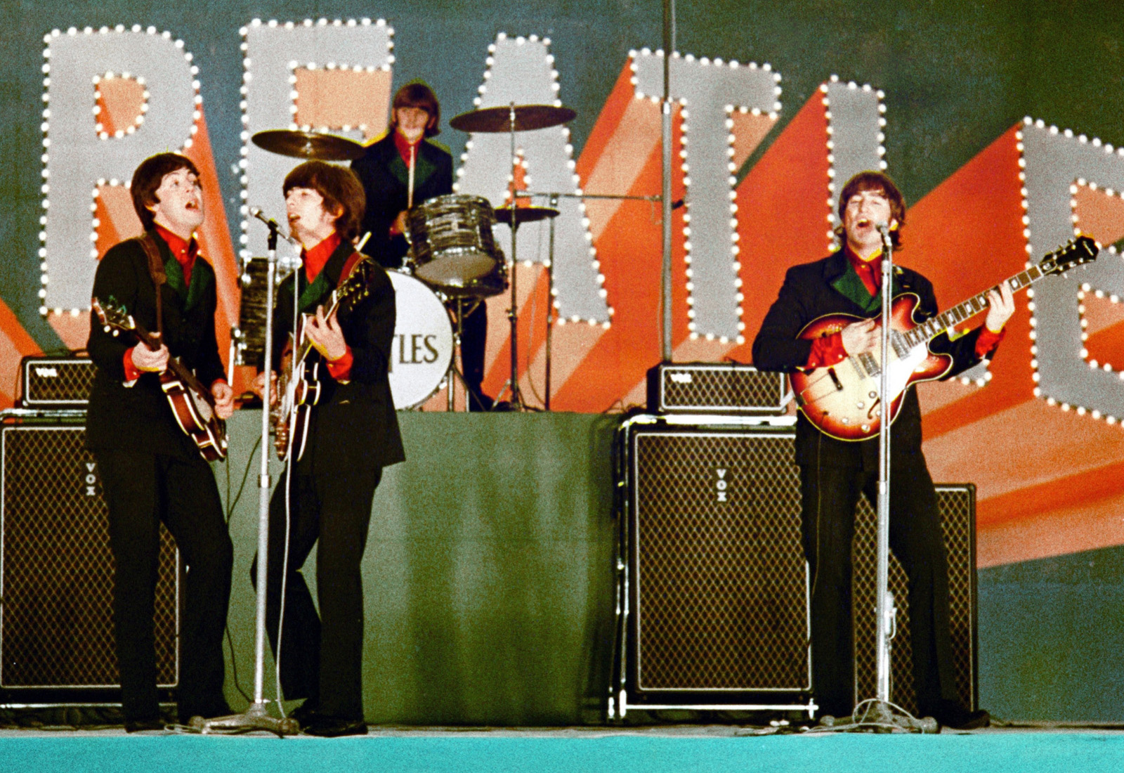 A Beatles a Buokan színpadán Japánban