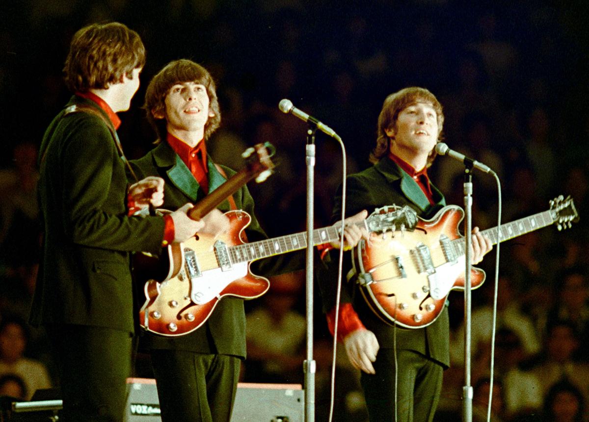 Beatles Tour Of Japan