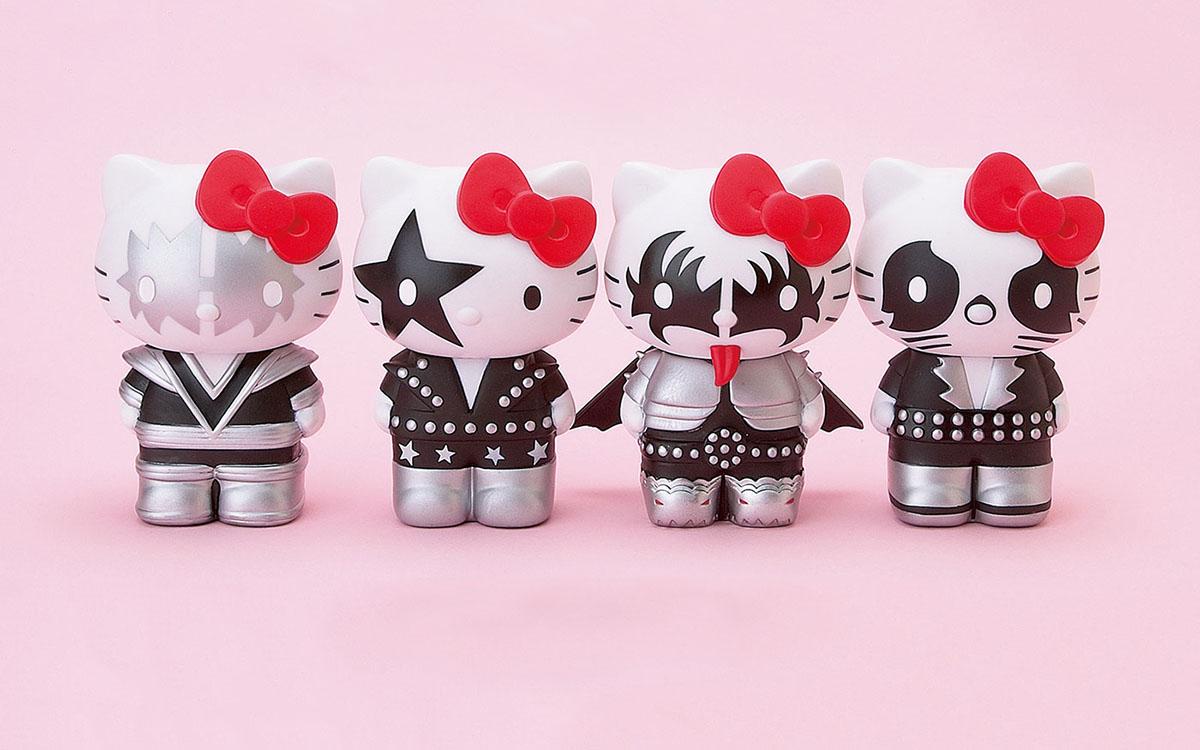 Hello Kitty Kisses Kiss Meets Hello Kitty