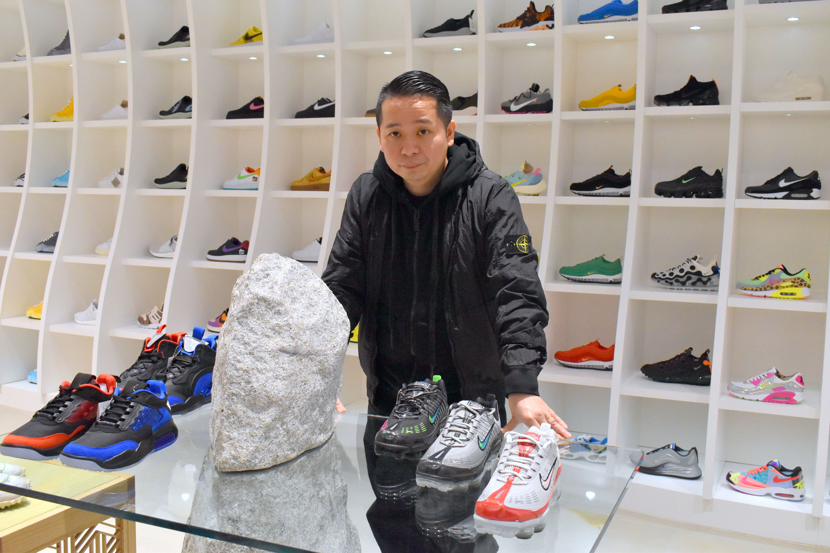 Sneakers: Just for kicks