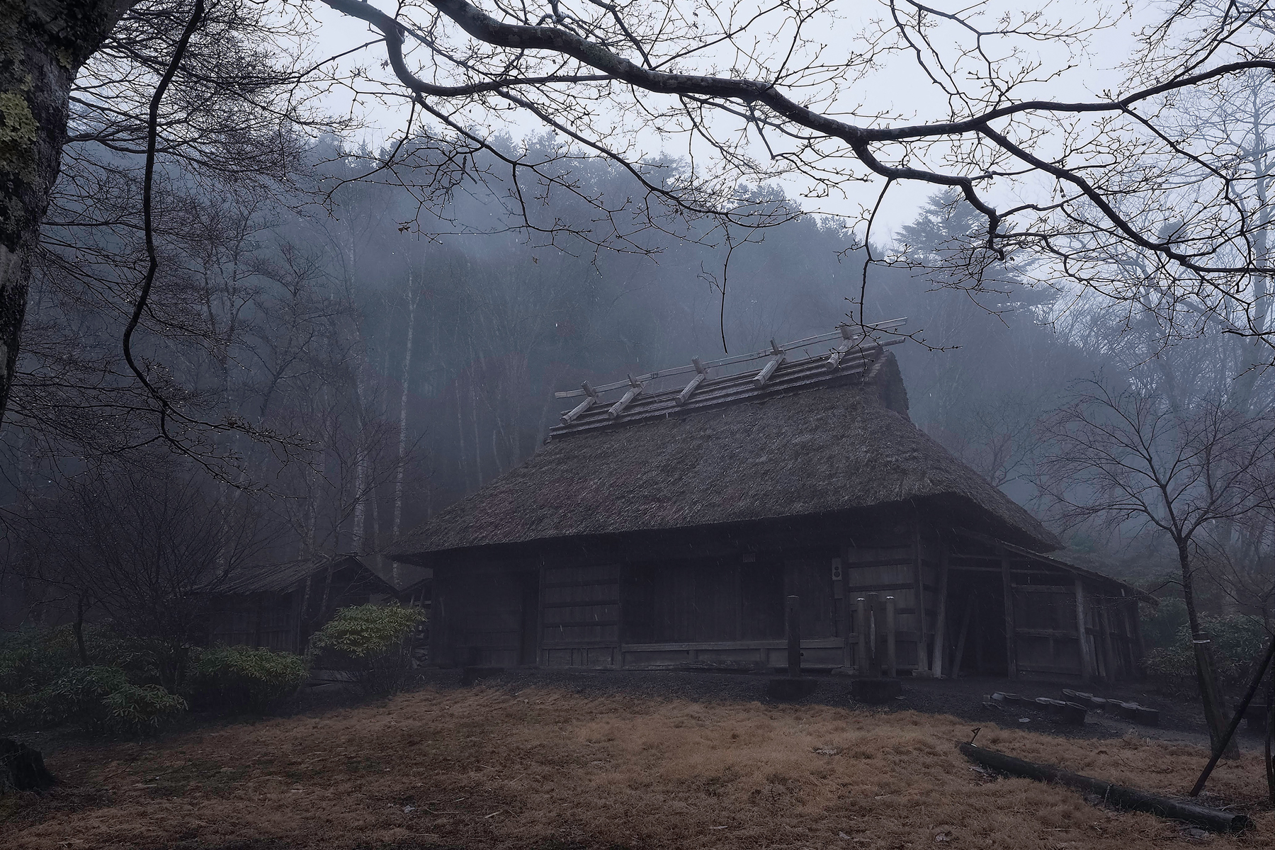 """An image from photographer Michiko Hayashi's award-winning photobook, """"Hodophylax: The Guardian of the Path."""" This traditional Japanese-style home is where Yukiaki Chishima, a senior priest at Mitsumine Shrine, was born.   ©2017 MICHIKO HAYASHI / HODOPHYLAX"""